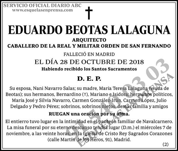 Eduardo Beotas Lalaguna